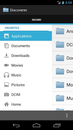 Discoverer Linda File Manager
