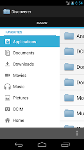 Discoverer(Linda File Manager) - screenshot thumbnail