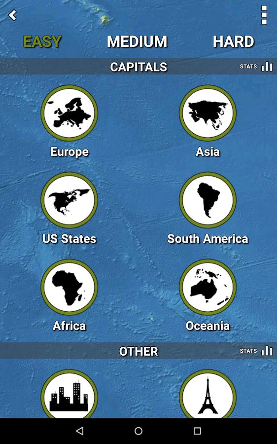 MapMaster - Geography game - screenshot