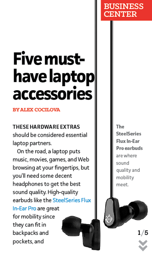 PCWorld Digital Magazine (US) - screenshot