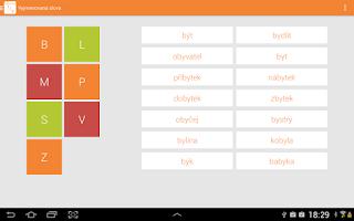 Screenshot of Learn Czech Grammar