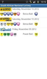 sa national lottery results