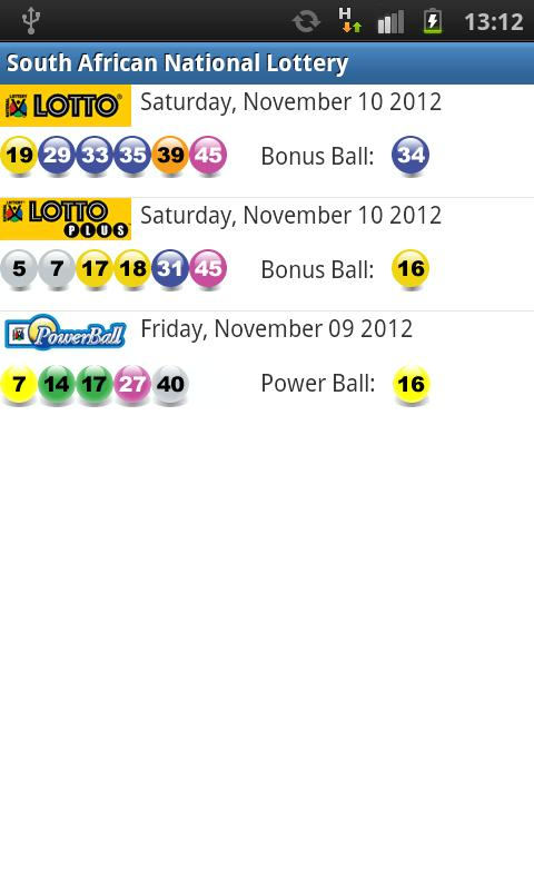 National Lottery Quick Pick Site