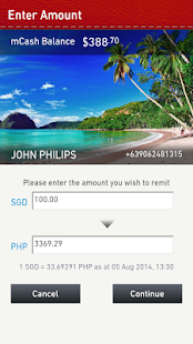 Singtel mWallet- screenshot thumbnail