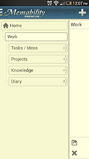 Hierarchical Note Tree Notepad - screenshot thumbnail