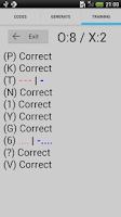 Screenshot of Morse Code Generator