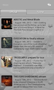 Metal Blade Records- screenshot thumbnail