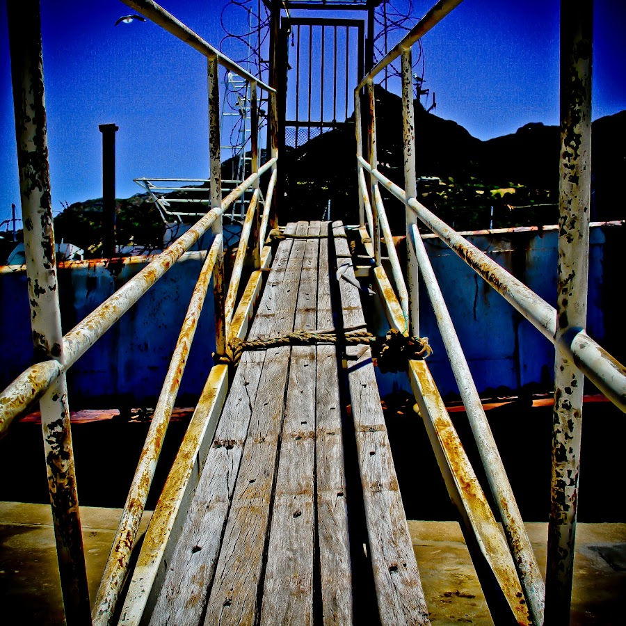 boat bridge in the city harbour  by Magdalena Wysoczanska - City,  Street & Park  Neighborhoods (  )