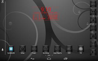 Screenshot of InfoBoxWide Zooper Widget