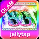 Glamorous Rainbow Theme SMS ★ icon