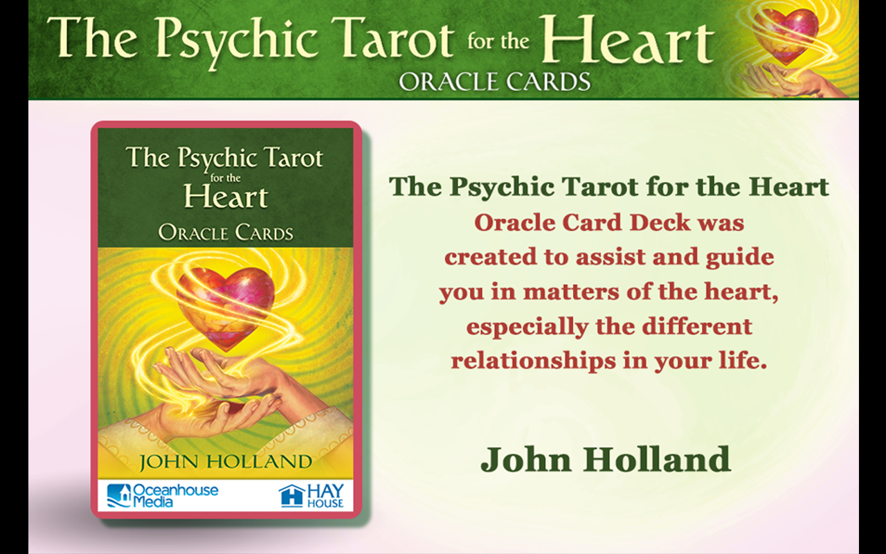 Psychic Tarot for the Heart- screenshot