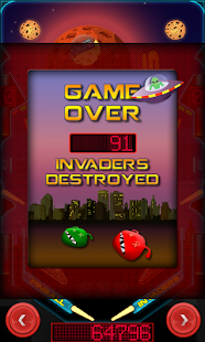 Pinball Invaders- screenshot thumbnail