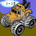 Monster Truck Math icon