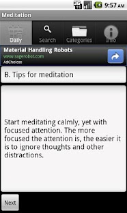 Learn Meditation - screenshot thumbnail