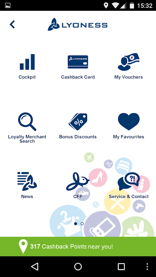 Lyoness Mobile: screenshot