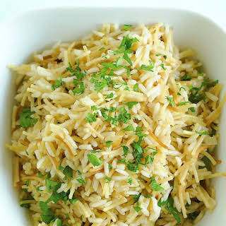 Rice Pilaf with Vermicelli.