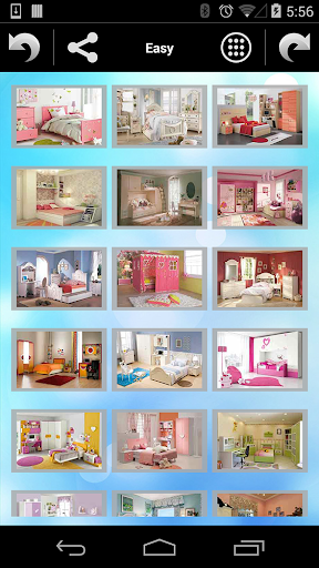 Jigsaw Puzzle Girls Rooms