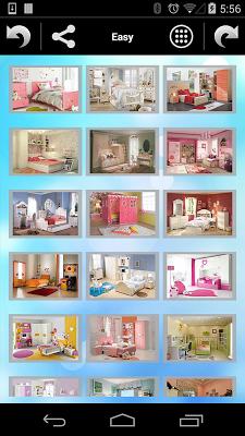 Jigsaw Puzzle Girls Rooms - screenshot