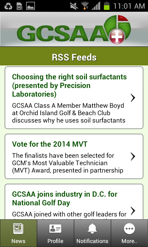 GCSAA+ - Android Apps on Google Play