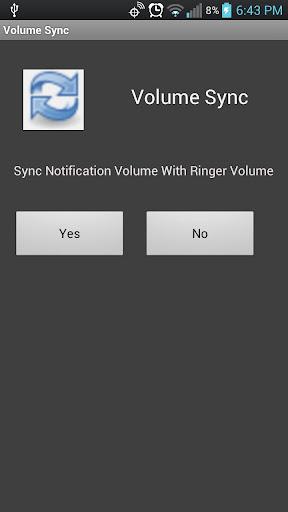 Volume Sync
