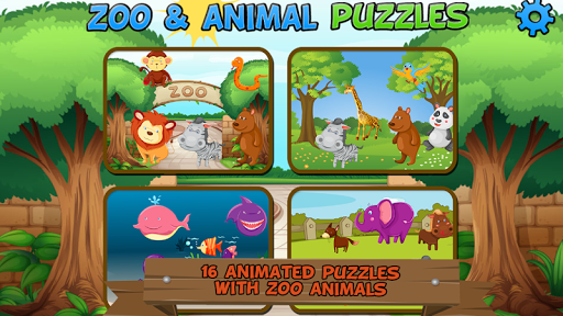 Zoo and Animal Puzzles