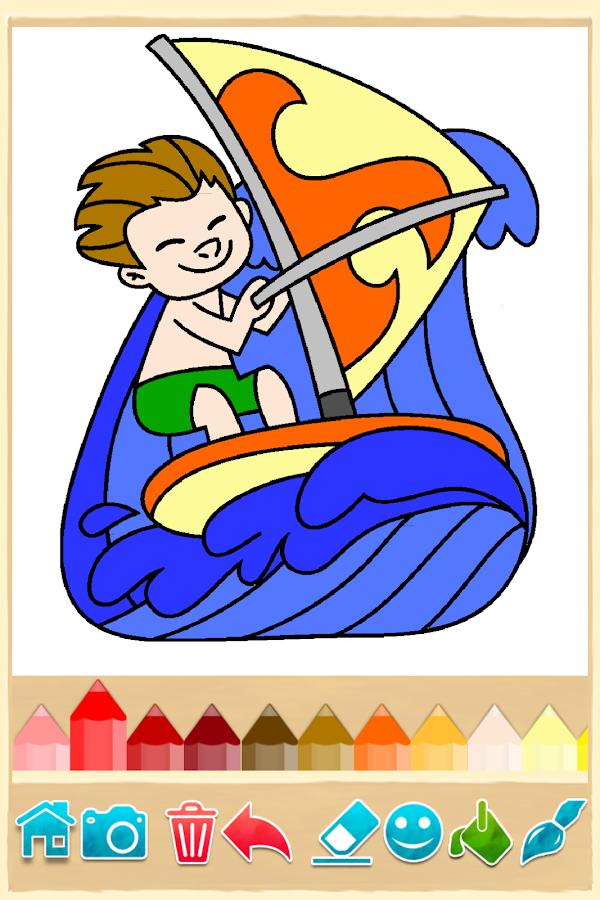 kids games free coloring screenshot - Free Coloring Games For Kids