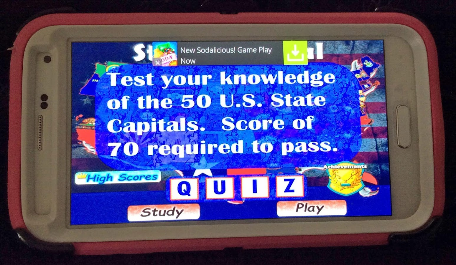State Capital Quiz Android Apps On Google Play - States and capitals of the usa quiz