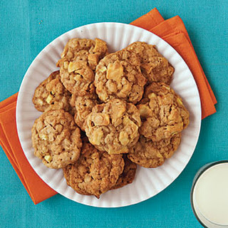 Chewy Caramel Apple Cookies.
