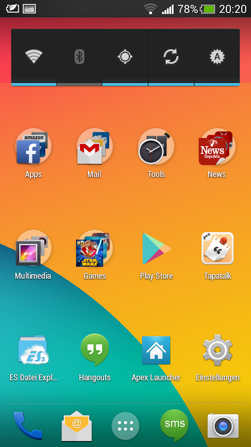 KitKat HD - Apex Theme- screenshot