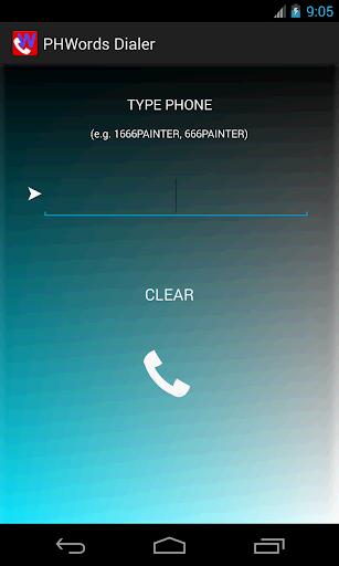 PhoneWords Dialer