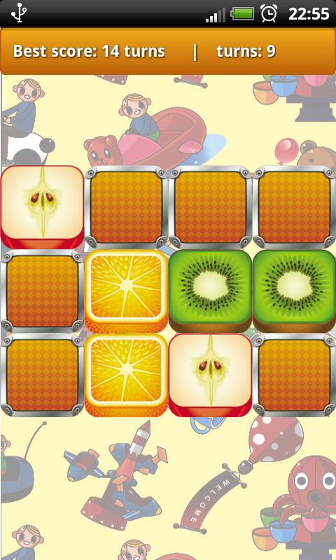Fruit Memory Game for Kids- screenshot