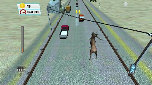 野生鹿運行交通獵人