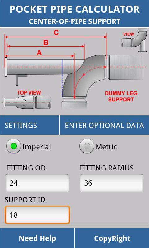 Pipe Support Calculator Android Apps On Google Play