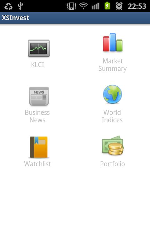 XSInvest - Bursa Mobile - screenshot