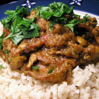 Chicken Curry with Turmeric.