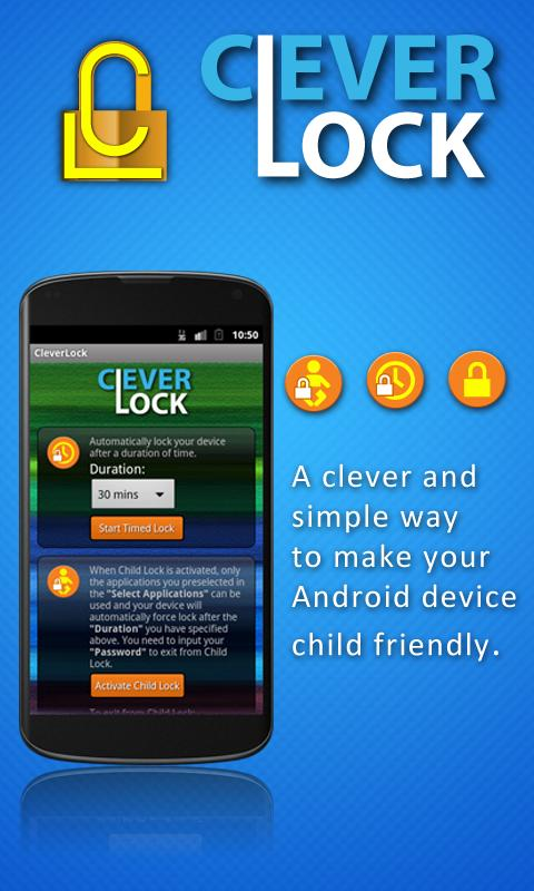CleverLock - screenshot