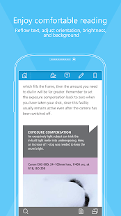 Foxit MobilePDF - PDF reader - screenshot thumbnail