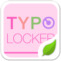 Typo Pink2 GO Locker Theme icon