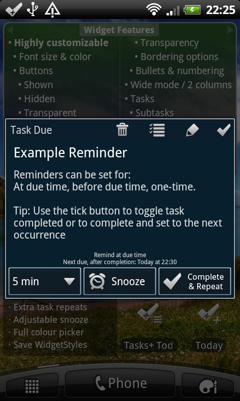 Tasks+ To Do List Manager Pro - screenshot