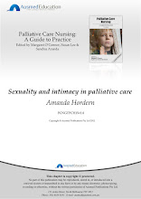 Sexuality and intimacy in Palliative Care