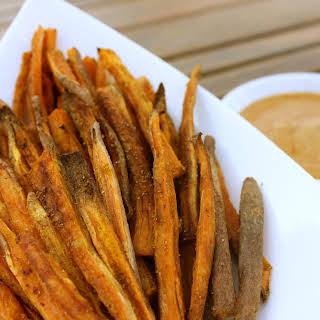 Yummy Baked Sweet Potato Fries.