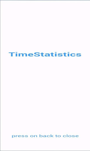 Time-Statistics