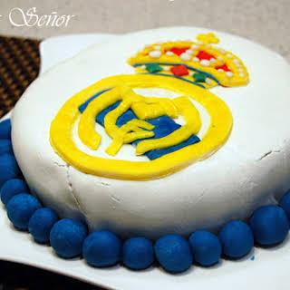 Real Madrid Cake.
