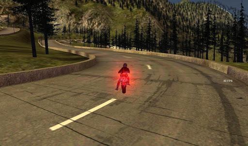 Fast Race Motor Bike