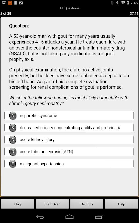 Internal Medicine LANGE Q&A - screenshot