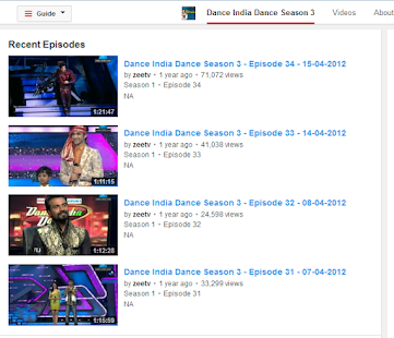 DID TV Show All Seasons ZeeTV - screenshot thumbnail
