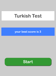 Turkish Test Pro- screenshot thumbnail