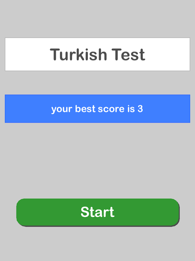 Turkish Test Pro- screenshot