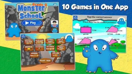モンスタースクールグレード3ゲーム