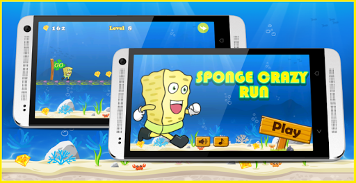 Sponge Crazy Run